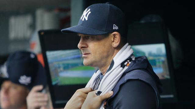 The Yankees suffered a narrow 6-4 loss against the Jays on Sunday . Aaron Boone discussed about his team's performance in the loss.