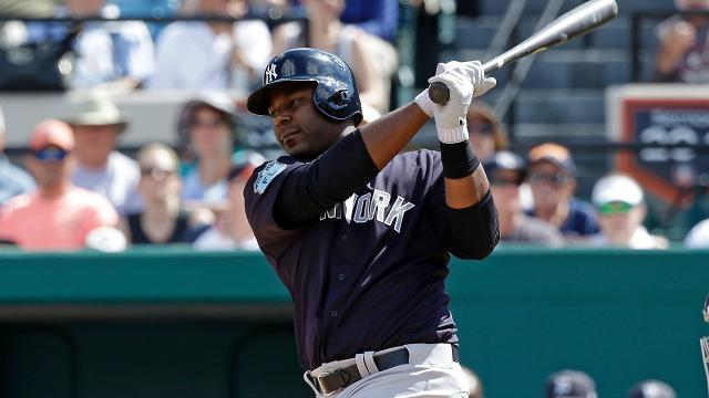 The Yankees acquired Chris Carter at a bargain this winter and the slugger is ready to take his power stroke to Yankee Stadium.