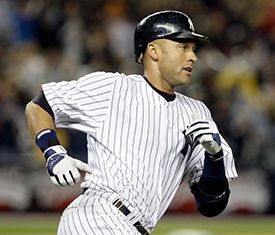 Derek Jeter sets all-time Yankees hits record on this day in