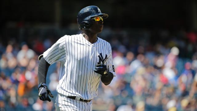 The Yankees have activated shortstop Didi Gregorius from the 10-day DL and designated Pete Kozma for assignment.