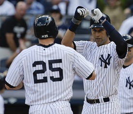 Derek Jeter And Mark Teixeira On Bat Flipping Player Celebrations