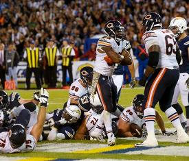 Zach Miller Circus Catch Lifts Chicago Bears Past San
