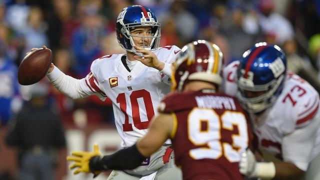 Week 17: Giants 19, Redskins 10
