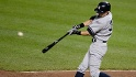 New York Yankees' Ichiro Suzuki, of Japan, flies out during the sixth inning of a baseball game against the Baltimore Orioles, Wednesday, May 22, 2013, in Baltimore. The Orioles won 6-3. (AP Photo/Nick Wass)
