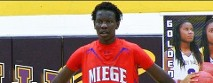 Manute Bol's son turning heads