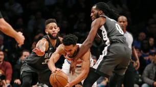 Nets can't contain Knicks' bench in home loss