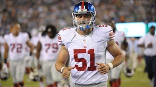 Giants re-sign long snapper DeOssie