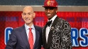NBA Draft takes place at Barclays