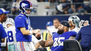 Giants C Halapio out for rest of season