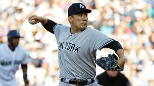 Tanaka struggles in third inning, otherwise sharp