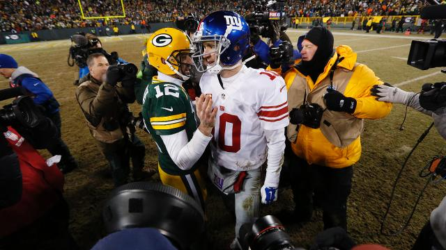 NFC Wild Card: Packers 38, Giants 13