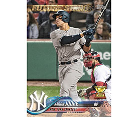 Aaron Judge To Be Card No 1 In Topps 2018 Baseball Series 1