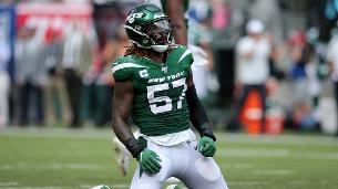 Jets LB Mosley ruled out against Browns