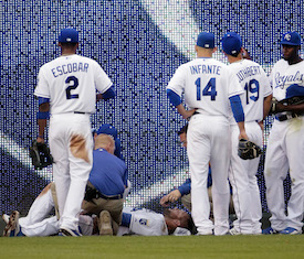 f3f57165c Royals OF Alex Gordon out 8 weeks, Brett Gardner to replace him in 2015 All- Star Game