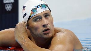 Lochte charged with false report of robbery