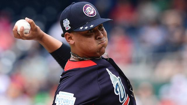 The Yankees have called up right-hander Domingo German and top prospect Justus Sheffield, who will be making his MLB debut.
