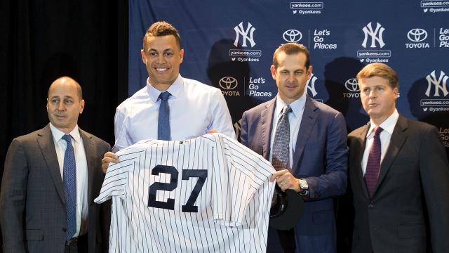 With the trades for Giancarlo Stanton and Jabari Blash, the Yankees furthered both their offseason goals in two fell swoops.