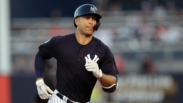Giancarlo Stanton hit his third and fourth homers of spring and Jonathan Loaisiga allowed two runs over four IP in the Yanks' 6-3 win.