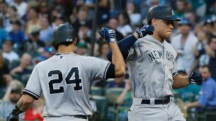 Judge hits 32nd home run in Saturday's loss