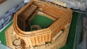"Bill ""Brother Beans"" Becker built a replica Yankee Stadium using 75,000 matchsticks. Watch Yankees Pregame on Monday, May 20 for more."