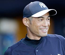 Ichiro Suzuki in perpetual motion