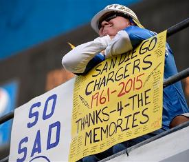 Chargers Raiders And Rams Request Relocation Eye Move To