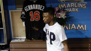 Marlins return to field in wake of Fernandez tragedy