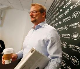 Image result for mike maccagnan coffee cup in hand pics