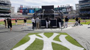 Go inside the cage with the Yankees