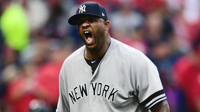 CC Sabathia went 9-0 with a 1.71 ERA in 10 starts following a Yankees loss in 2017. He'll look to keep that success going in Game 3.