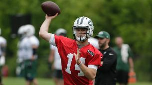 Darnold, Jets wrap up first day of OTAs