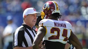Josh Norman fined for hit on Sterling Shepard