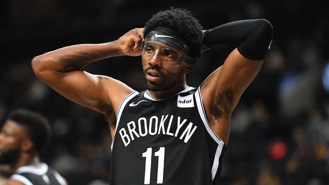 Kyrie Irving is set for his Nets regular-season debut when Brooklyn battles the Timberwolves on Wednesday at Barlcays Center.