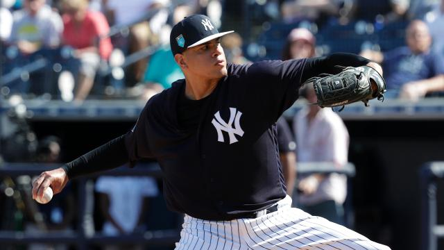 The Yankees got strong outings from their staff, including Chad Green and Dellin Betances, but fell to the Rays, 4-2, on Monday evening.