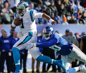 NFL Rapid Rundown: Giants vs Panthers Predictions