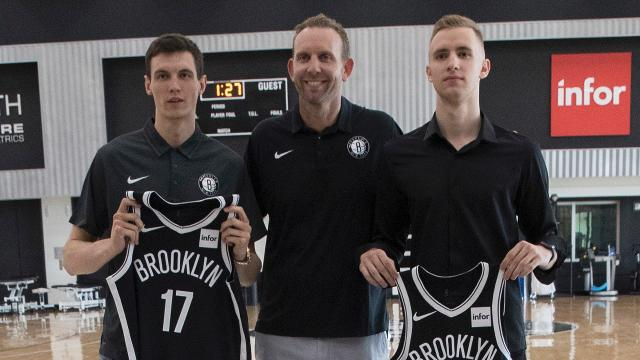 On Nets Magazine, GM Sean Marks analyzes the team's two picks in the 2018 draft, small forwards Dzanan Musa and Rodions Kurucs.
