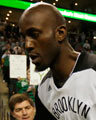 Should KG come off the bench?